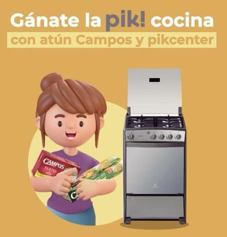 Gana con Campos y PikCenter